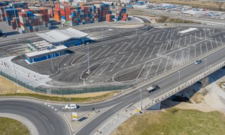 Porto di Capodistria, nuovo garage multipiano pronto per le auto