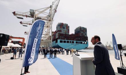 Il porto di Capodistria ha ampliato la banchina del terminal container