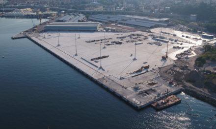 Trieste, collaudo binari alla Piattaforma logistica
