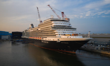 "Fincantieri delivers ""Rotterdam"" to Holland America Line"