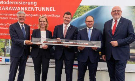 Caravanche, nuovo il tunnel ferroviario a servizio dei porti di Capodistria e Fiume