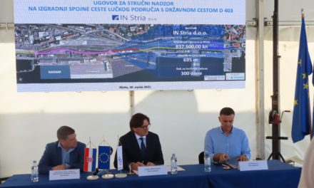 Port of Rijeka, Authority signs contracts for new road connection