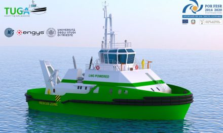 Trieste, M.E.S. presenta il nuovo progetto per un rimorchiatore a gas