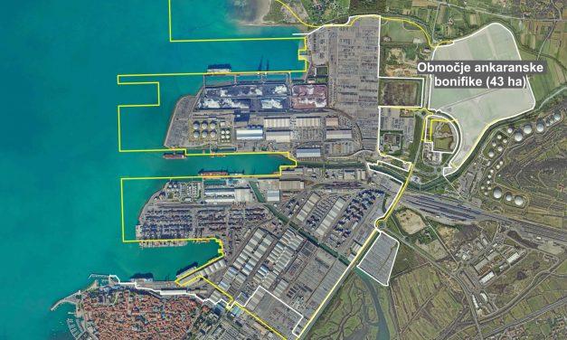 Capodistria, firmato un accordo per l'espansione del porto