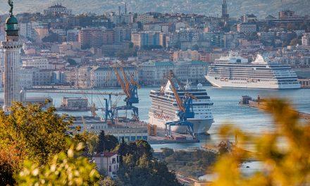 Crociere, prima nave al Porto Vecchio di Trieste
