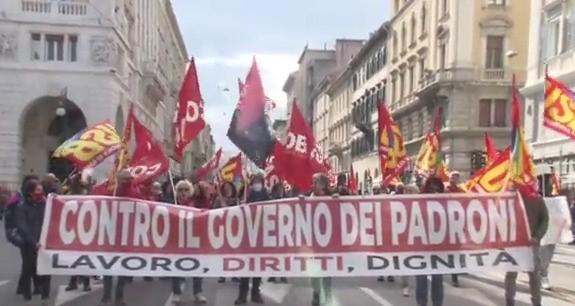 Sciopero e manifestazioni, porti di Trieste e Monfalcone vicini al blocco