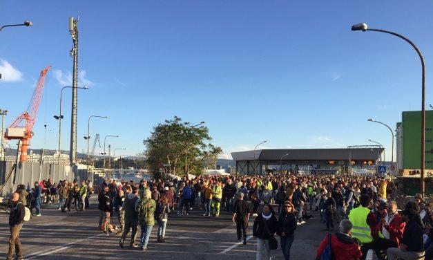 Porto di Trieste, prosegue la protesta. A Monfalcone operatività regolare
